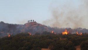 Denizli'deki orman yangını kısmen kontrol altına alındı