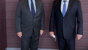 Dışişleri Bakan Yardımcısı Önal, Putin'in Suriye Özel Temsilcisi Lavrentyev ile görüştü