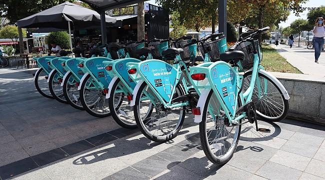 Düzce'de akıllı bisikletler hizmete girdi