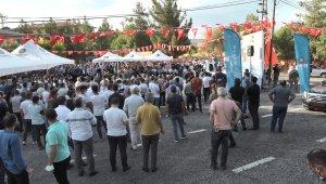 Ergani'yi kırsal mahallere bağlayan 84 kilometrelik grup köy yolu açılışı yapıldı