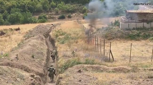 Ermeni askerleri, Nahçıvan'daki Azerbaycan mevzilerine ateş açtı