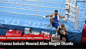 Fransız boksör Mourad Aliev Ringde Oturdu