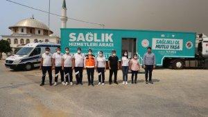 Gezici Sağlık Merkezi Manavgat'ta