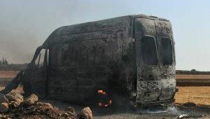 Halep'te terör örgütü PKK sivil savunma ekiplerini hedef aldı: 1 yaralı