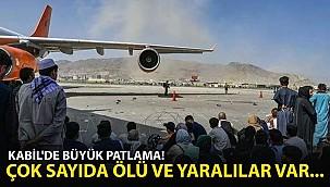 Kabil Havalimanı'nın Dışında Patlama! Çok Sayıda Ölü ve Yaralı Var
