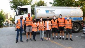Kadıköy'den yola çıkan ikinci ekip Marmaris'e ulaştı