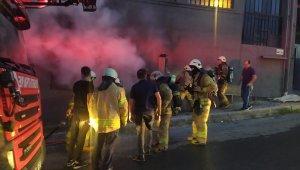 Kağıthane'de 6 katlı plastik fabrikasında korkutan yangın