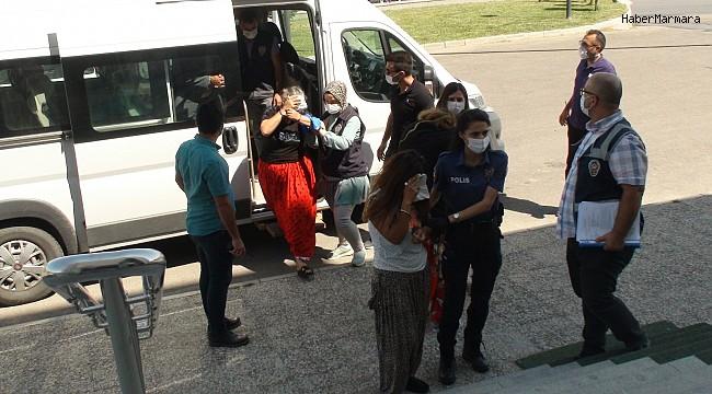 Karaman'da hırsızlık yapan 3'ü kadın 4 kişiye ev hapsi
