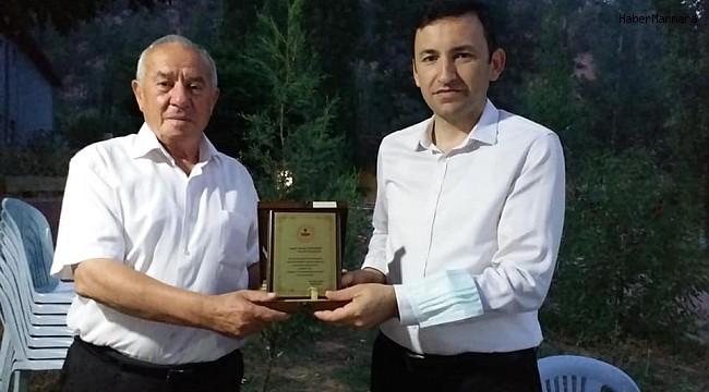 Karahallı Kaymakamı Ahmet Gülderen'e Veda Yemeği Düzenlendi