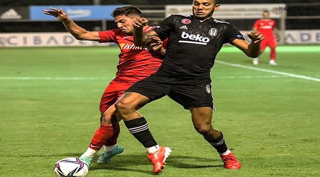 Kayserispor deplasmanda Beşiktaş'ı yendi