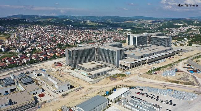 Kocaeli Şehir Hastanesininin yapımı sürüyor