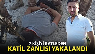 Konya'da Aynı Aileden 7 Kişiyi Öldüren Katil Zanlısı Yakalandı