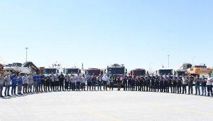 Konya yangınlar için birlik oldu, Muğla'ya 23 araç daha gönderildi