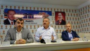 """Milletvekili Türkmen, """"Devrek yolunu 2023'te bitireceğiz"""""""