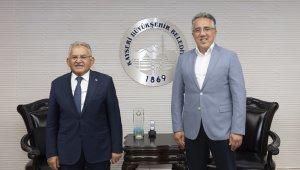 Nevşehir Belediye Başkanı Savran'dan Başkan Büyükkılıç'a ziyaret