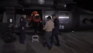 Polis helikopteri 2 yaşındaki bebek için havalandı