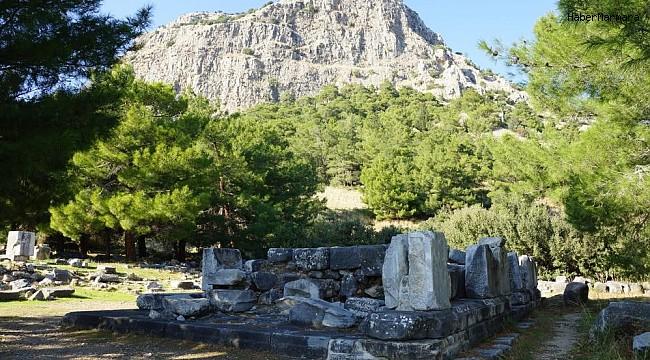 Priene Antik Kenti ziyaretçilere kapatıldı