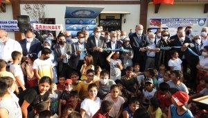 Şahinbey'de bir sosyal tesis daha hizmete açıldı