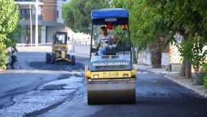 Salihli Belediyesi'nden asfalt seferberliği