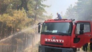 Siirt belediyesi itfaiye ekipleri, Manavgat'ta görev yapmaya başladı