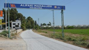 Tarsus'ta grup yolları yenileniyor