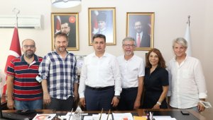 TSYD İzmir'den Gençlik ve Spor İzmir İl Müdürü Eskici'ye ziyaret