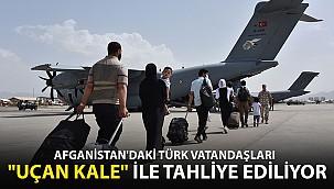 Uçan Kale Yola Çıktı! Afganistan'daki Türk Vatandaşları İçin Harekete Geçildi