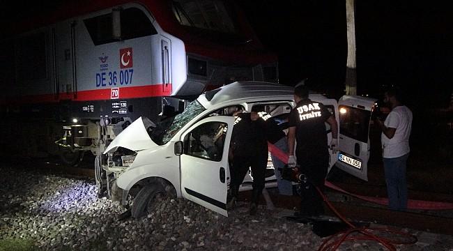 Uşak'ta tren kazası: 2 ölü