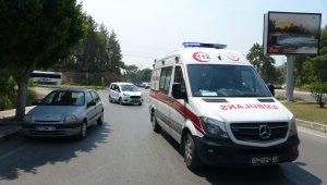 Yangından etkilenen köylerde sağlık hizmeti vatandaşın ayağına gidiyor