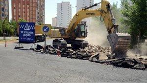 Yenişehir Üçkuyu Mahallesi Hilar Caddesi yenileniyor