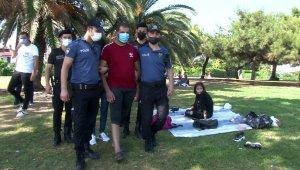 Yeşilköy sahilde denetim: 3 kaçak göçmen yakalandı