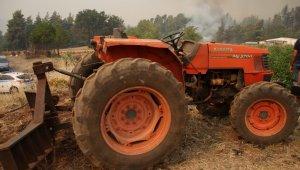 Yunanistan'ın Eğriboz Adası'ndaki yangın 3 gündür devam ediyor
