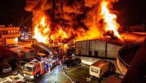 Almanya'da Türk vatandaşa ait işyerinde yangın