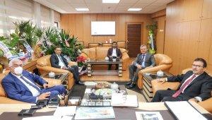 Altınok ve Öz'den Bölge Müdürü Yavuz'a hayırlı olsun ziyareti