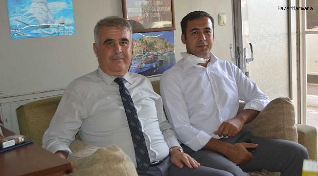 """Ayvalık SGK Müdürü Özkaya, """"Kayıt dışı istihdamla mücadelede taviz yok"""""""