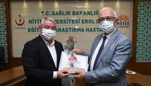 Başkan Aşgın'dan sağlık çalışanlarına teşekkür