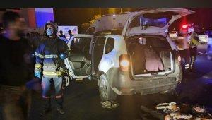 Batman'da otomobil tıra arkadan çarptı: 3'ü ağır 11 yaralı