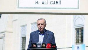 """Cumhurbaşkanı Erdoğan: """"İki NATO ülkesi olarak bizim çok daha farklı bir konumda olmamız gerekir"""""""