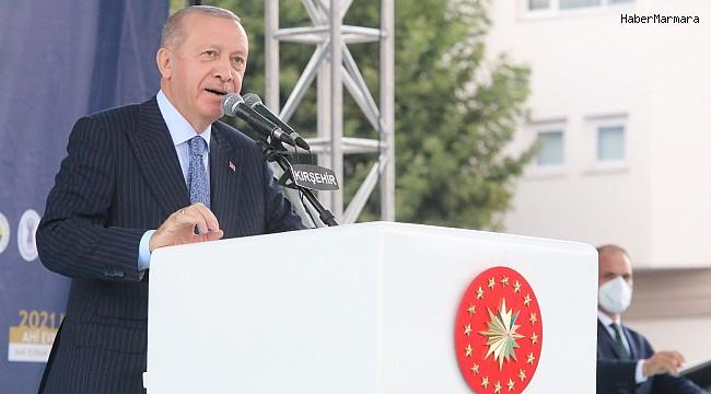 """Cumhurbaşkanı Erdoğan: """"Şeker pancarı alış fiyatı bu yıl 420 TL"""""""