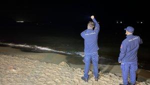 Deniz üzerindeki cisim ihbarı ekipleri harekete geçirdi