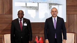 Dışişleri Bakanı Çavuşoğlu, Angola Dışişleri Bakanı Antonio ile görüştü
