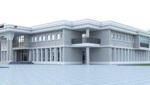 Düzce'de cephe giydirmeleri valilik binası ile başladı