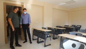 Eğitim Destek Evi ve Kreş inşaatları sürüyor