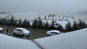 Giresun'da kar sürprizi
