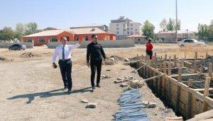 İl Müdürü Çalgan, Tutak ve Patnos'ta ki spor yatırımlarını inceledi
