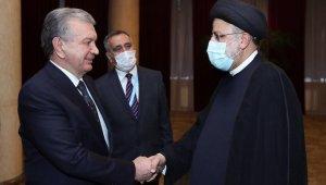 İran Cumhurbaşkanı Reisi, Özbekistan Devlet Başkanı Mirziyoyev ile görüştü