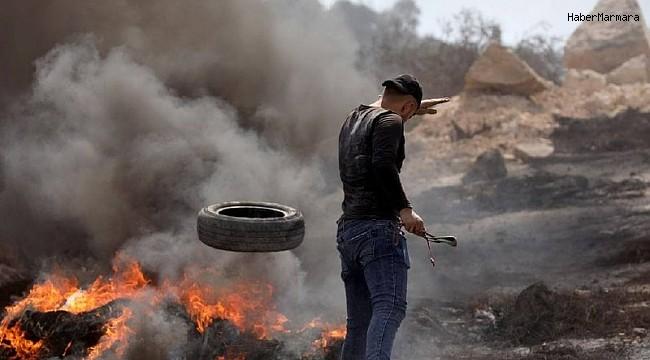 İsrail'den Nablus'ta Filistinlilere sert müdahale: 1 ölü, 90 yaralı