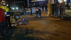 Kaldırıma çarpan patpat takla attı: 1 ölü, 2 yaralı