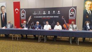 Konya'da 18. Uluslararası Mistik Müzik Festivali başlıyor