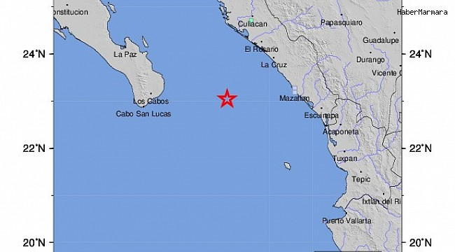 Meksika açıklarında 5.6 büyüklüğünde deprem